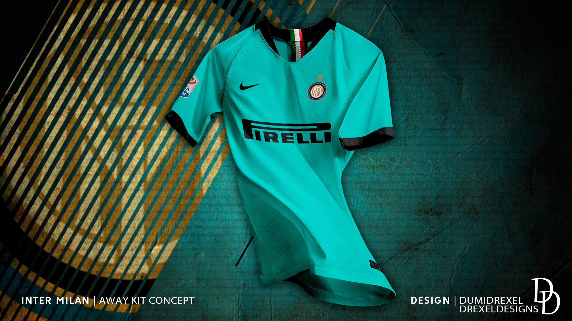 cheaper 940a8 ee79f ArtStation - Inter Milan - Away Kit 19/20 Concept, Drexel ...