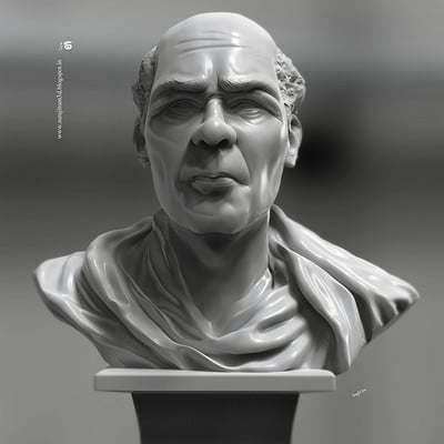 Surajit sen sir digital sculpt by surajitsen jan2019