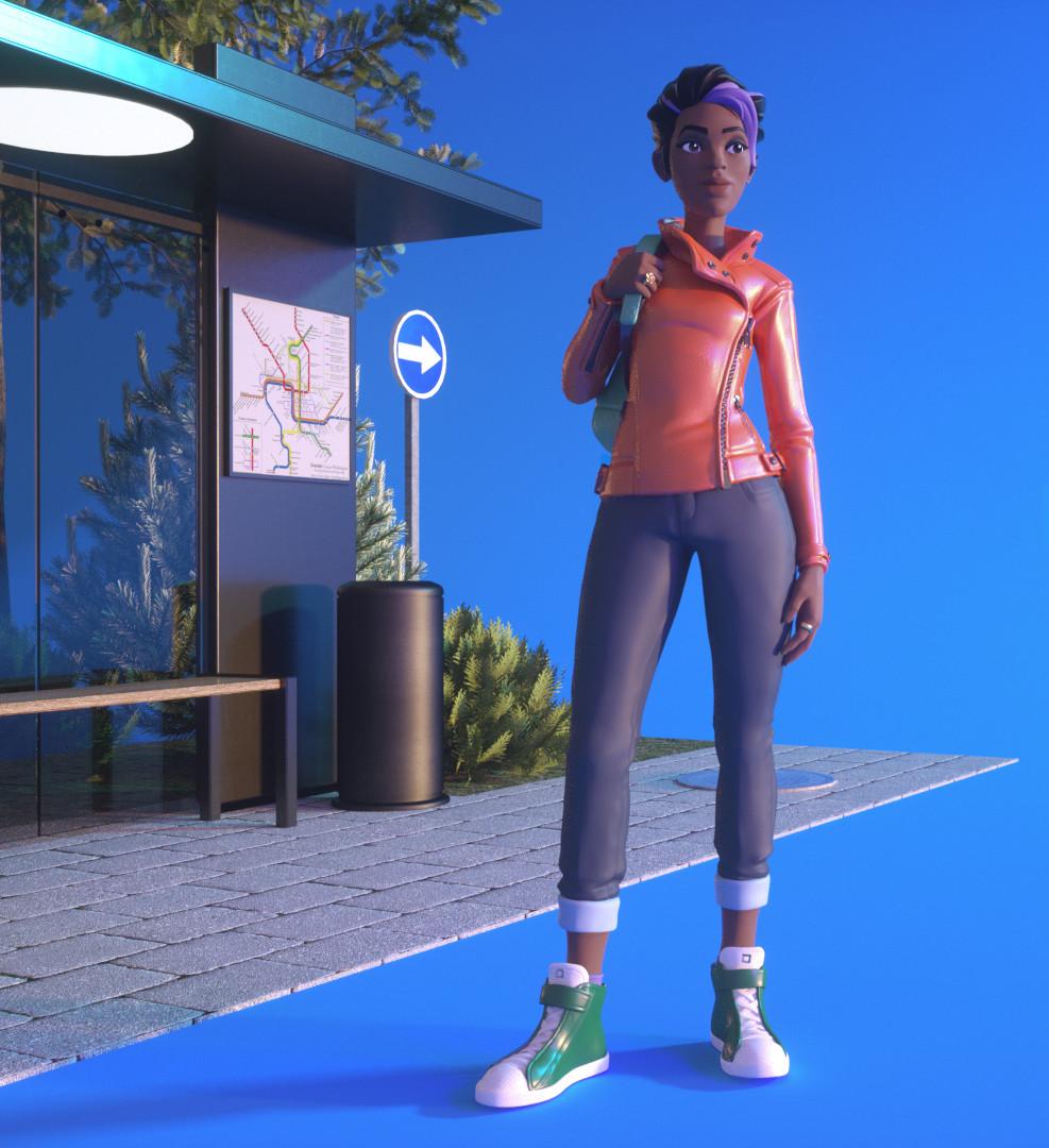 3D character art by Ka Yin Lee. https://www.artstation.com/kayinlee
