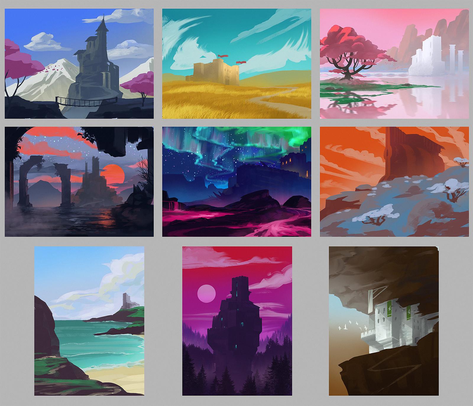 Izaak moody castle env color 01