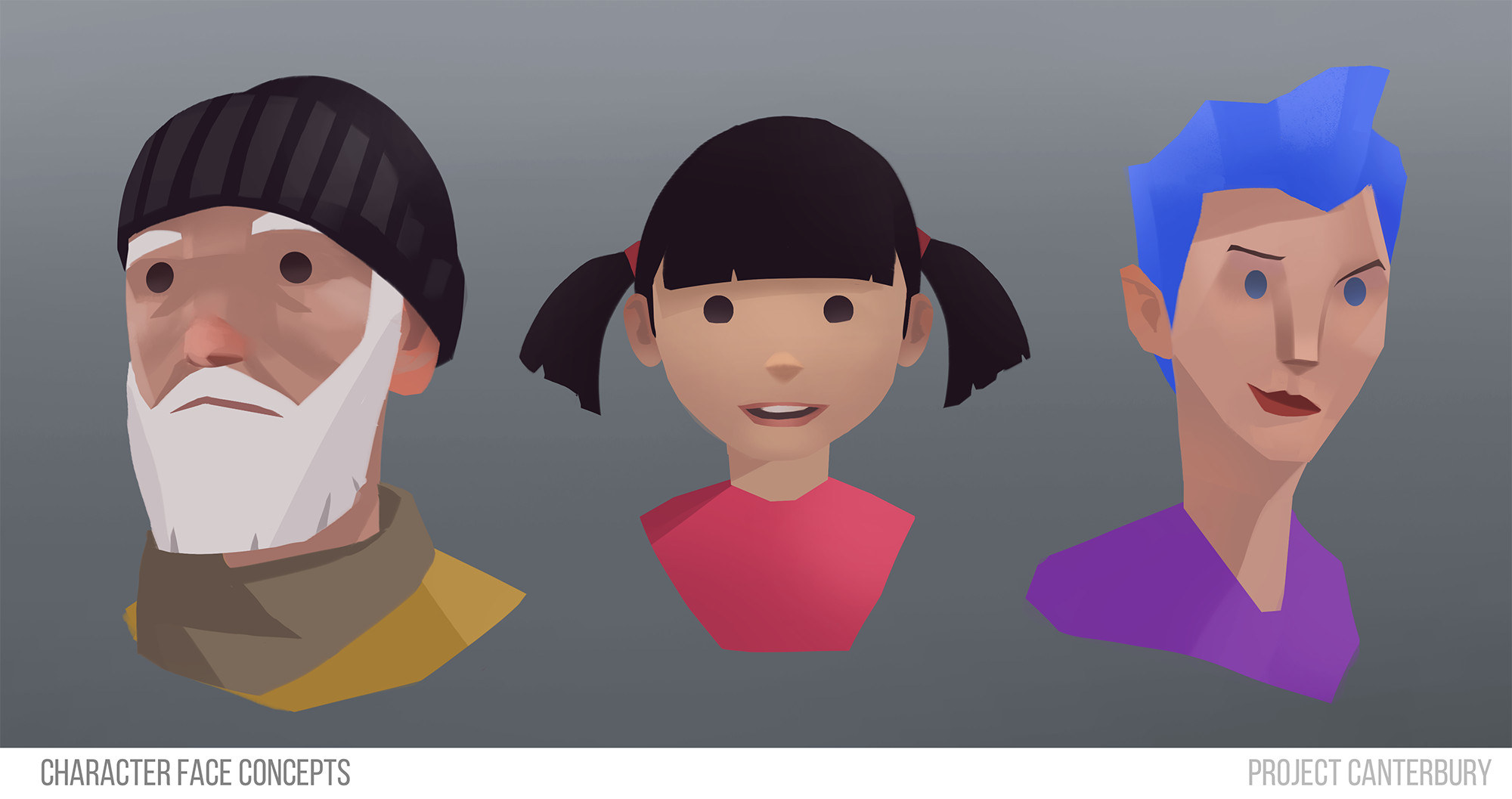 Avatar exploration for Project Canterbury.