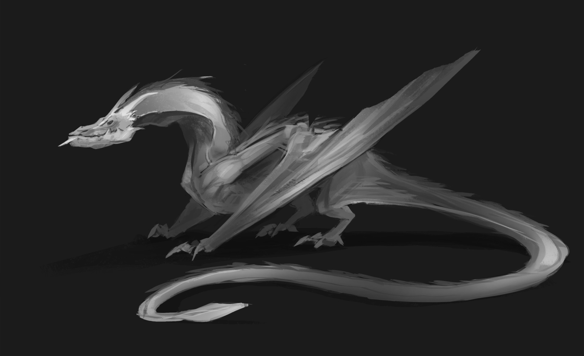 Izaak moody dragon concept 3