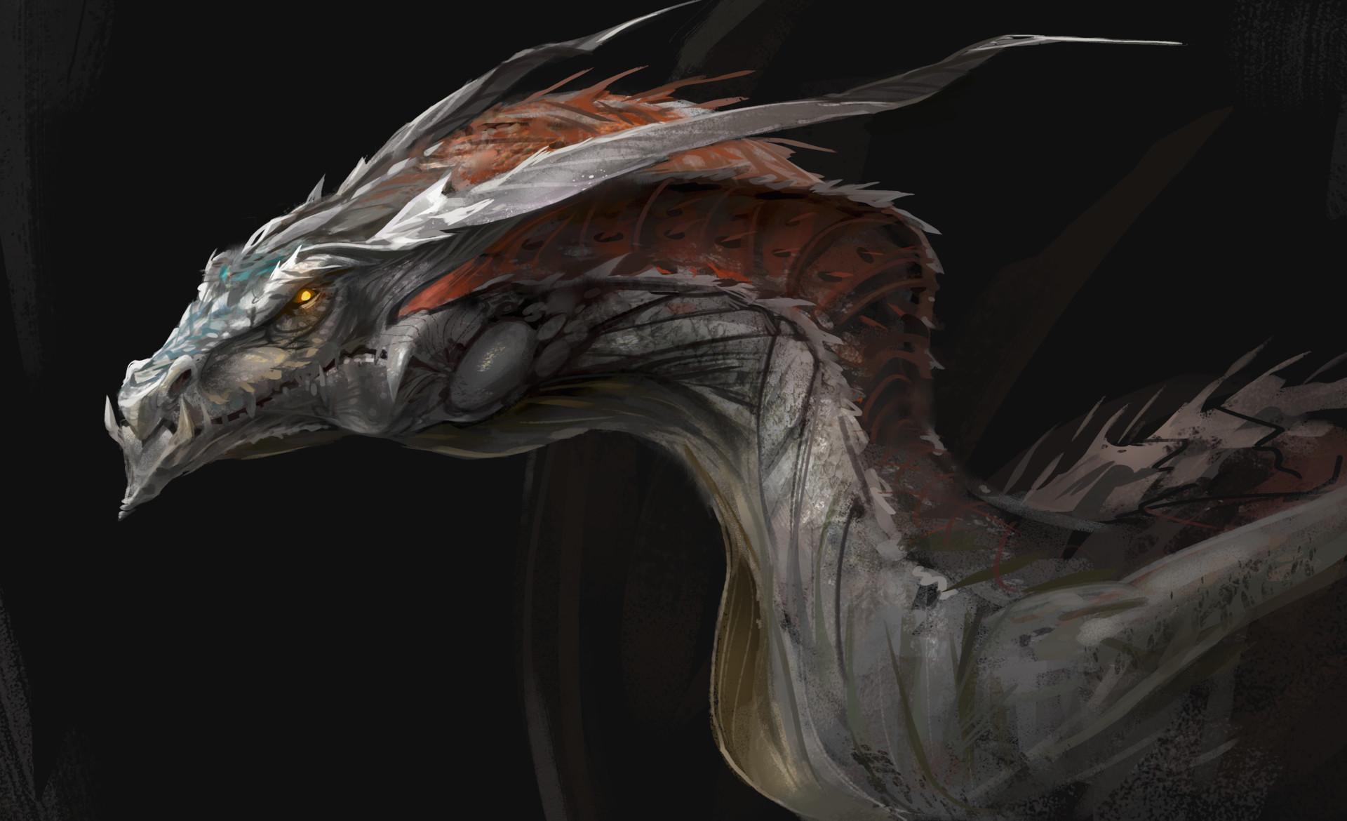 Dragon concept for Actiongram. Final model here: https://www.artstation.com/artwork/amkDR