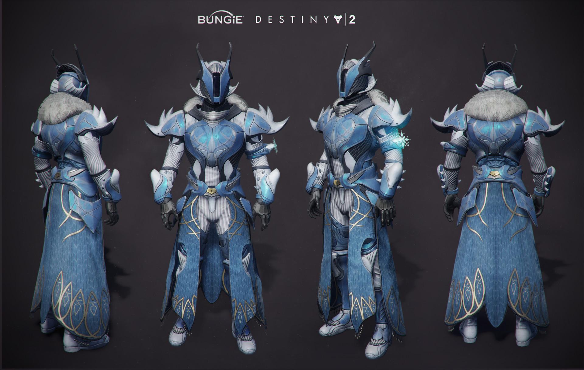 ArtStation - Destiny 2 Forsaken Armor, Rosa Lee