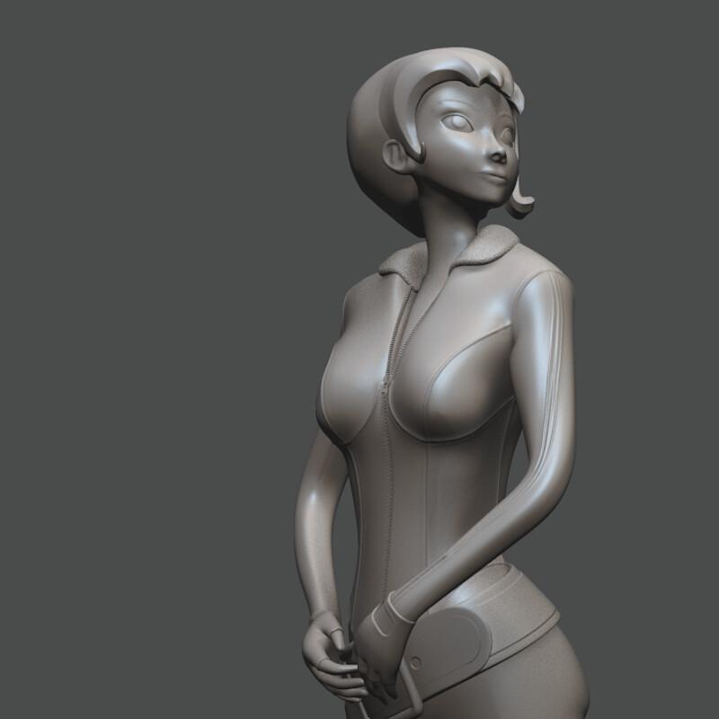 Agent Dash : 3D Print