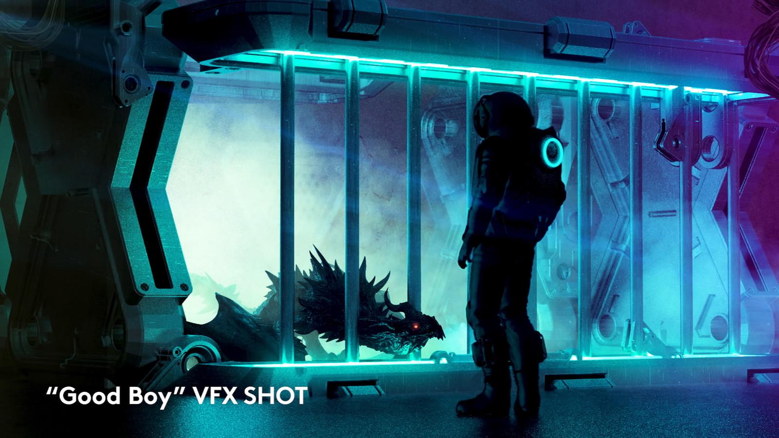 """Good Boy"" VFX SHOT BREAKDOWN"