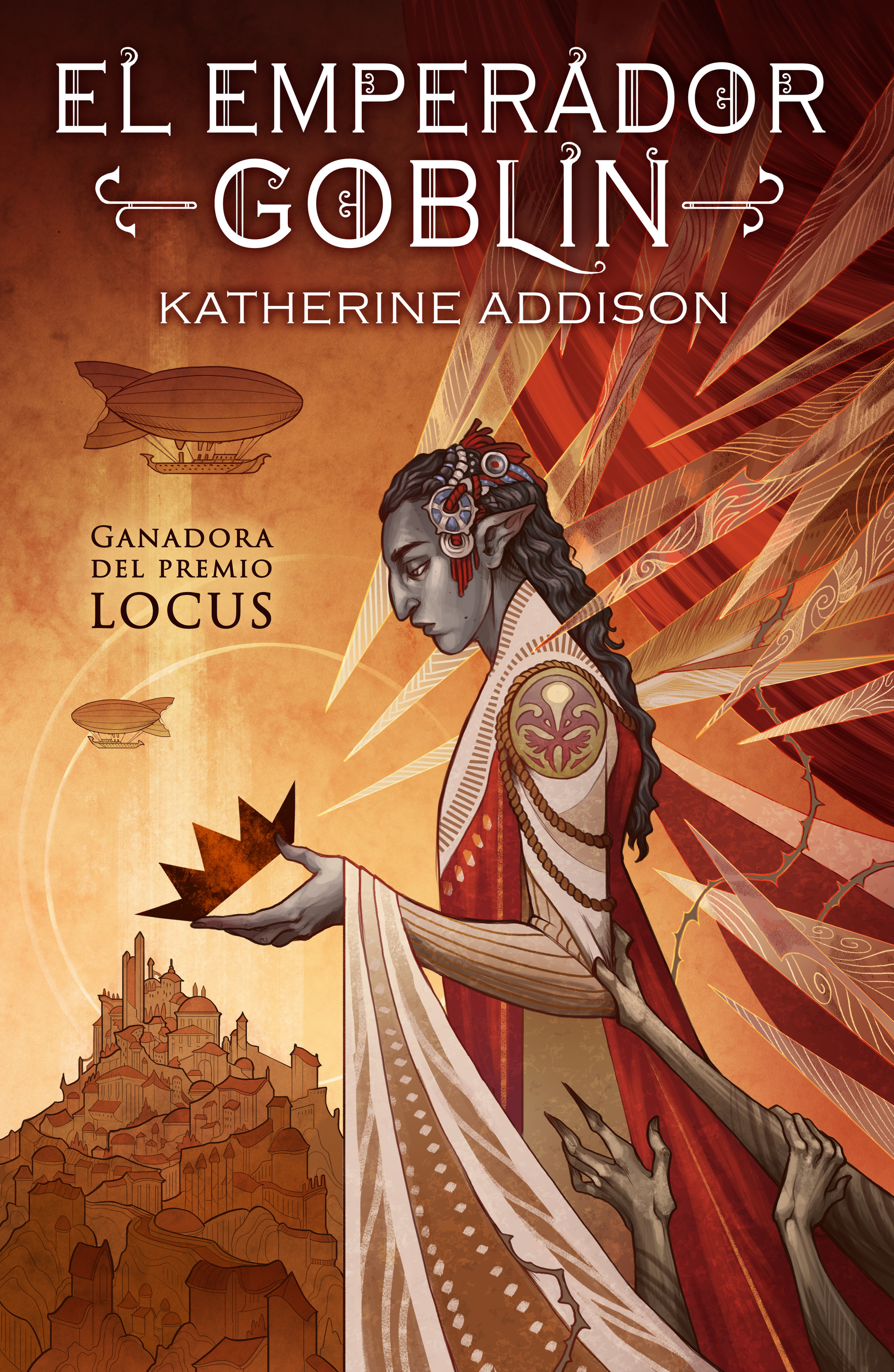 ArtStation - Book Cover- The Goblin Emperor (Spanish Edition), Libertad  Delgado