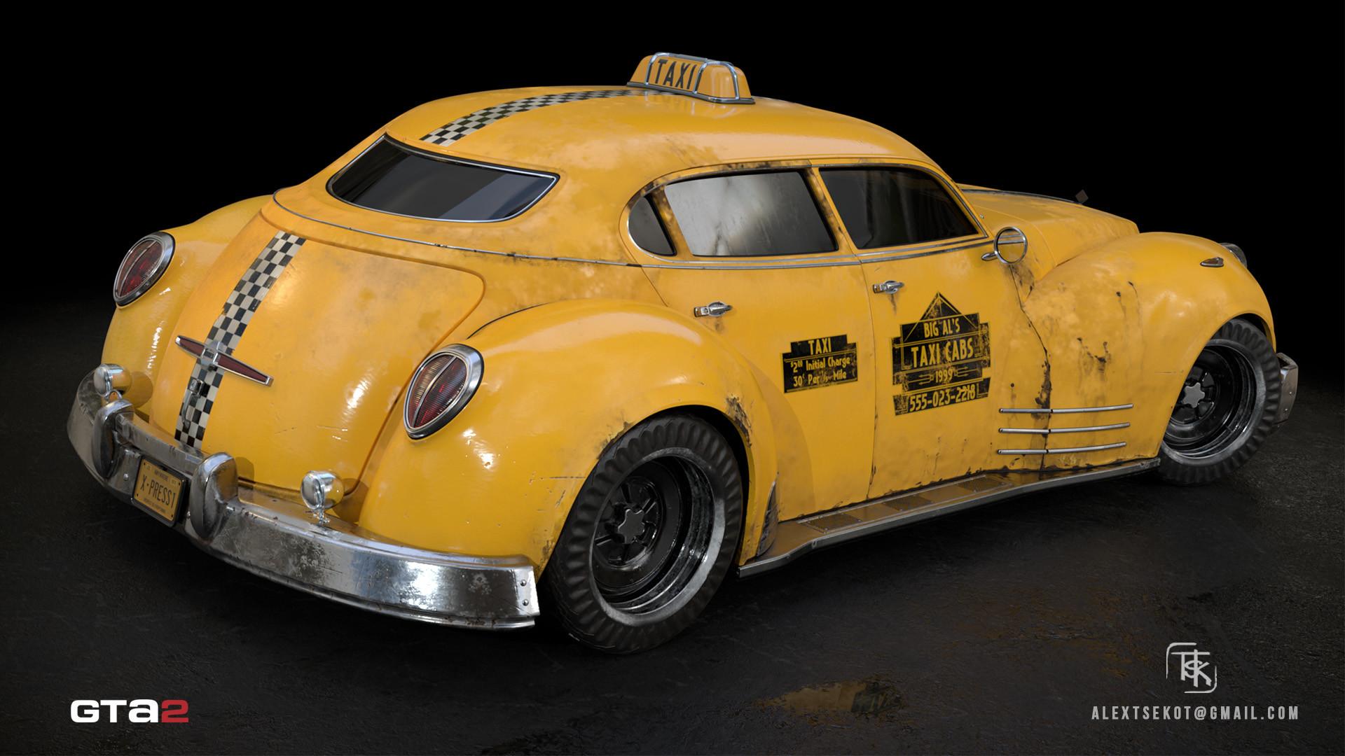 Alex tsekot taxi xpress 3