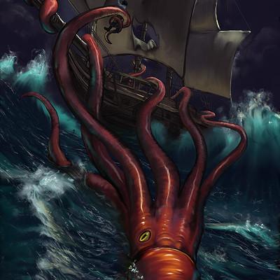 Casey weeks kraken ship web