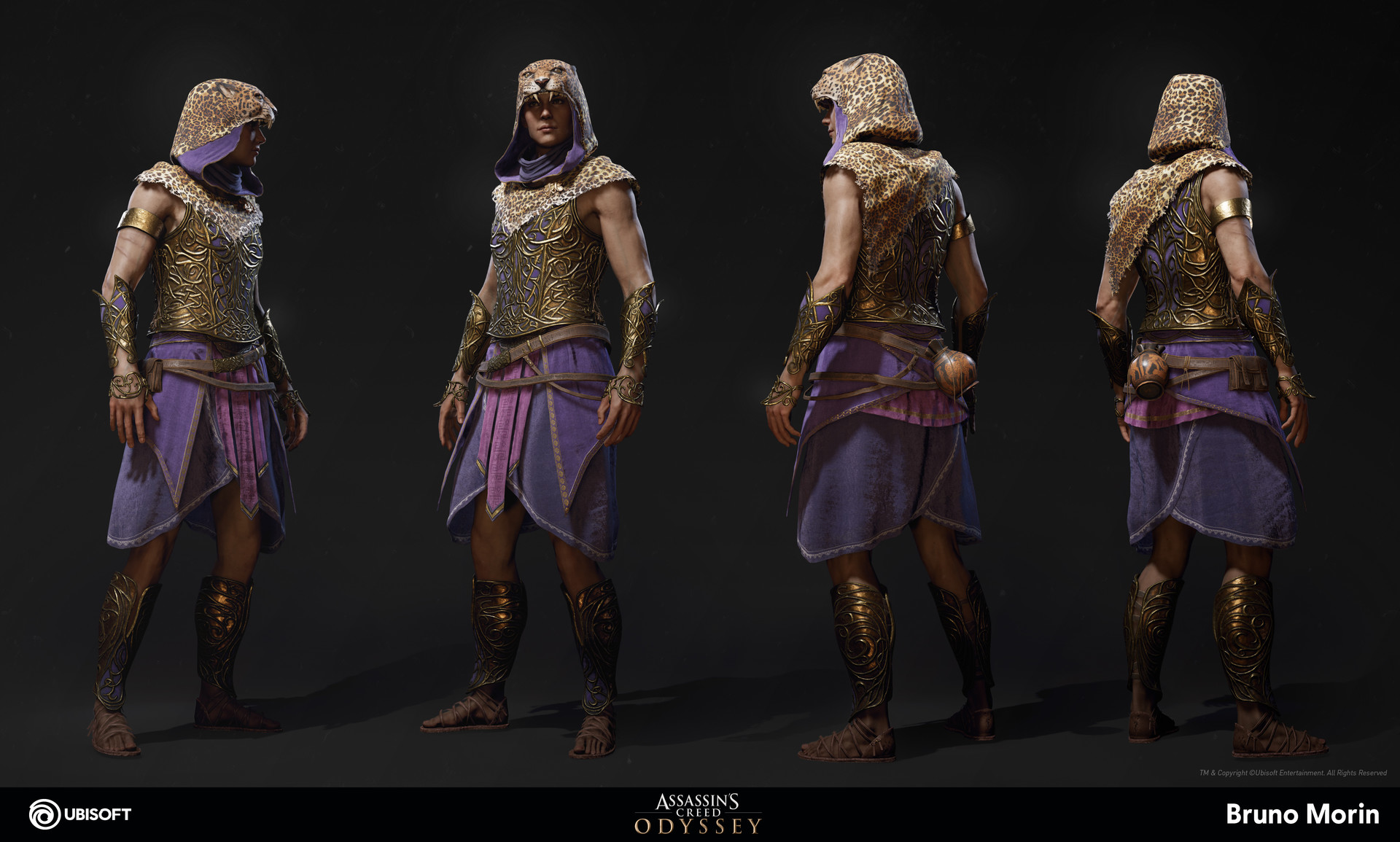 Artstation Assassin S Creed Odyssey Dionysos Outfit Bruno Morin