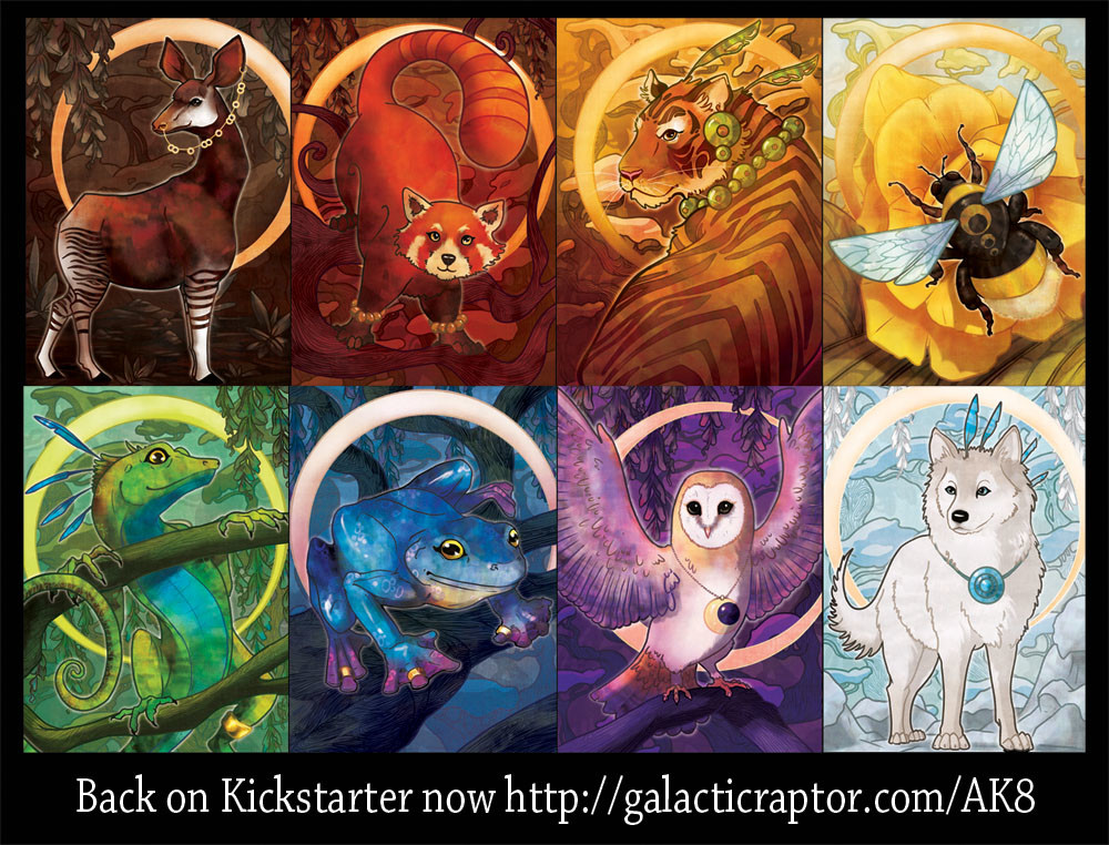 It's live on kickstarter now! http://galacticraptor.com/AK8