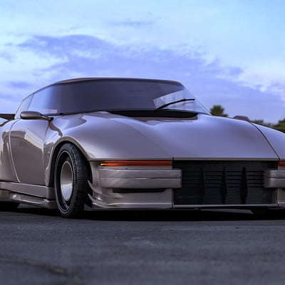 Federico zimbaldi porsche concept 400