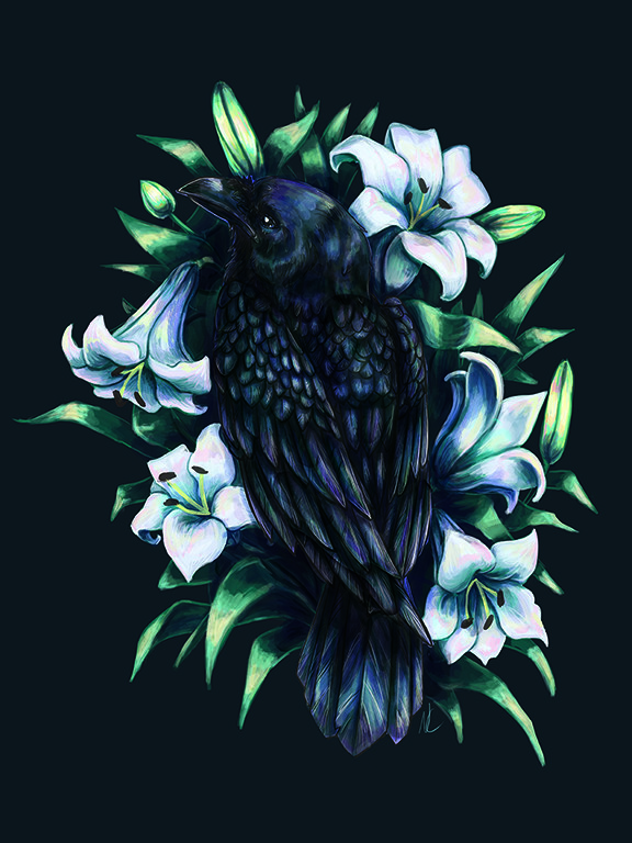 Natalie chenard raven insta