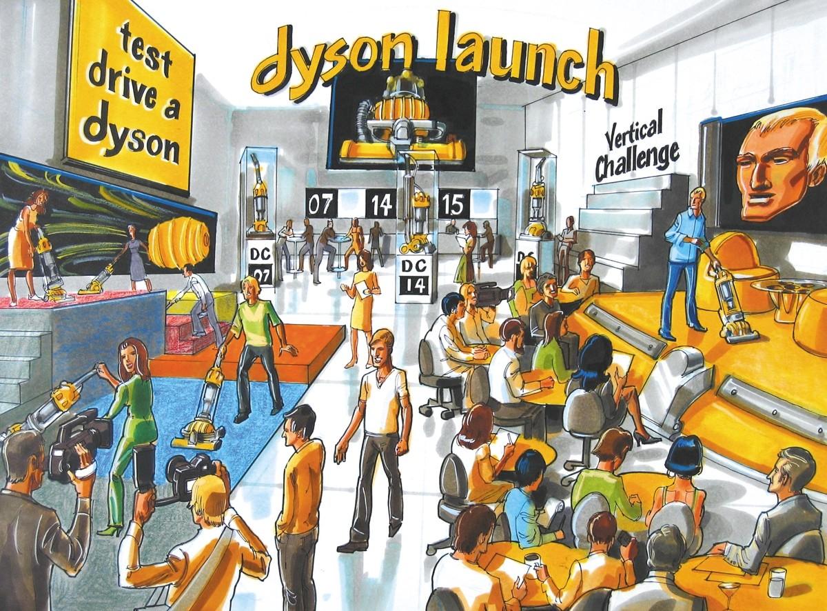 Dyson Launch, key frame.
