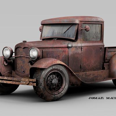 Jomar machado 171 roadster pickup ford