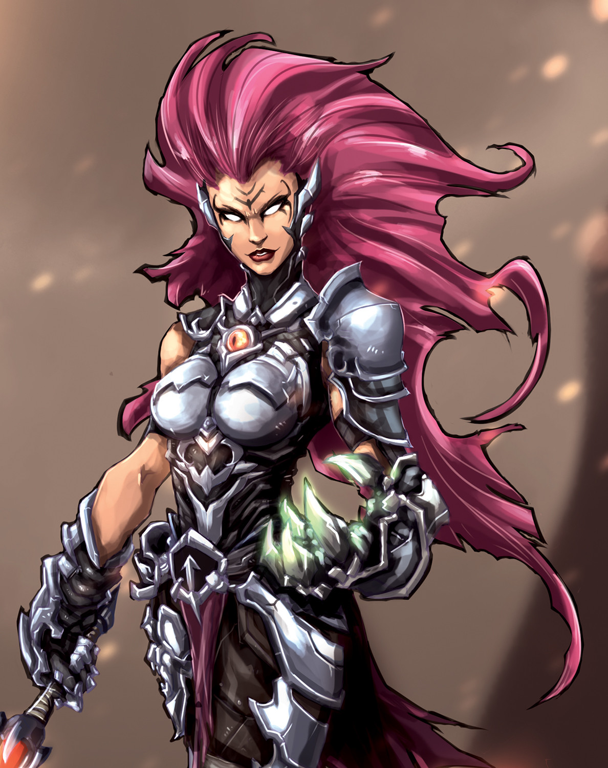 Artstation Darksiders 3 Fury Paul Tirol