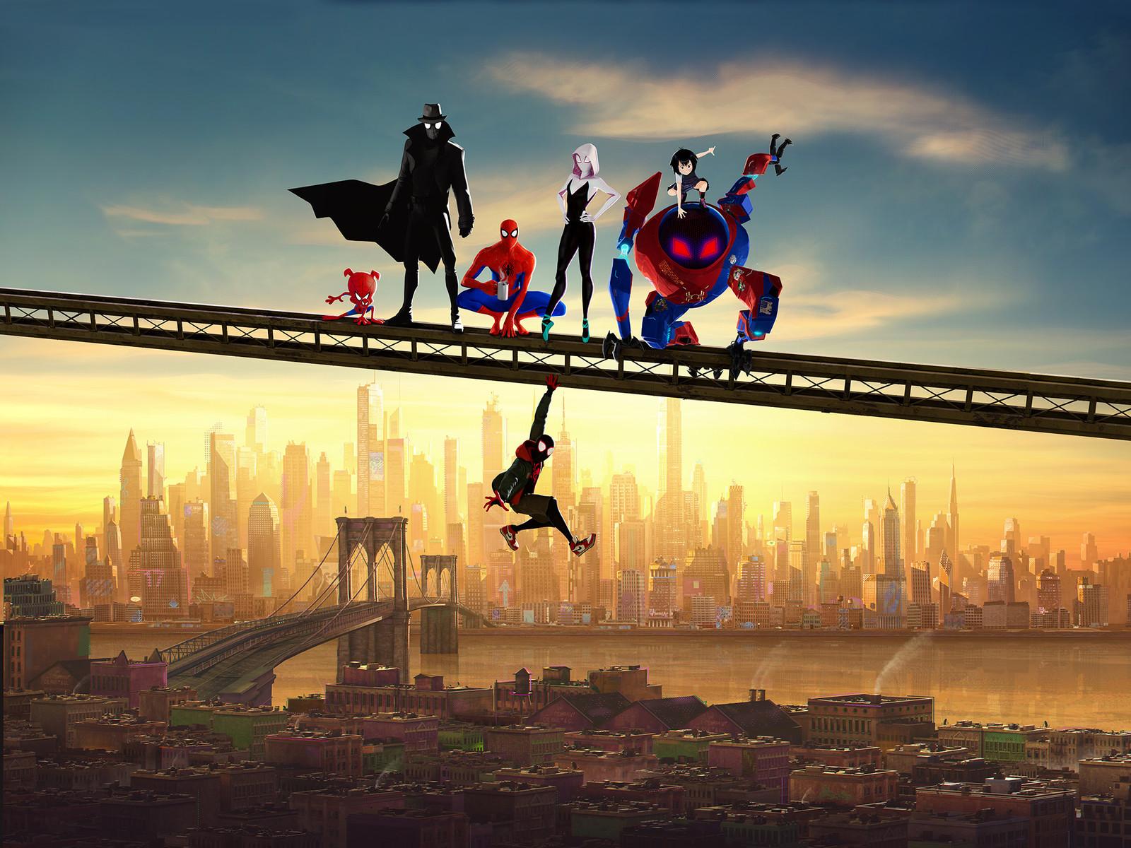 Spider Man : Into the Spider Verse Poster Design www.nickhiatt.com