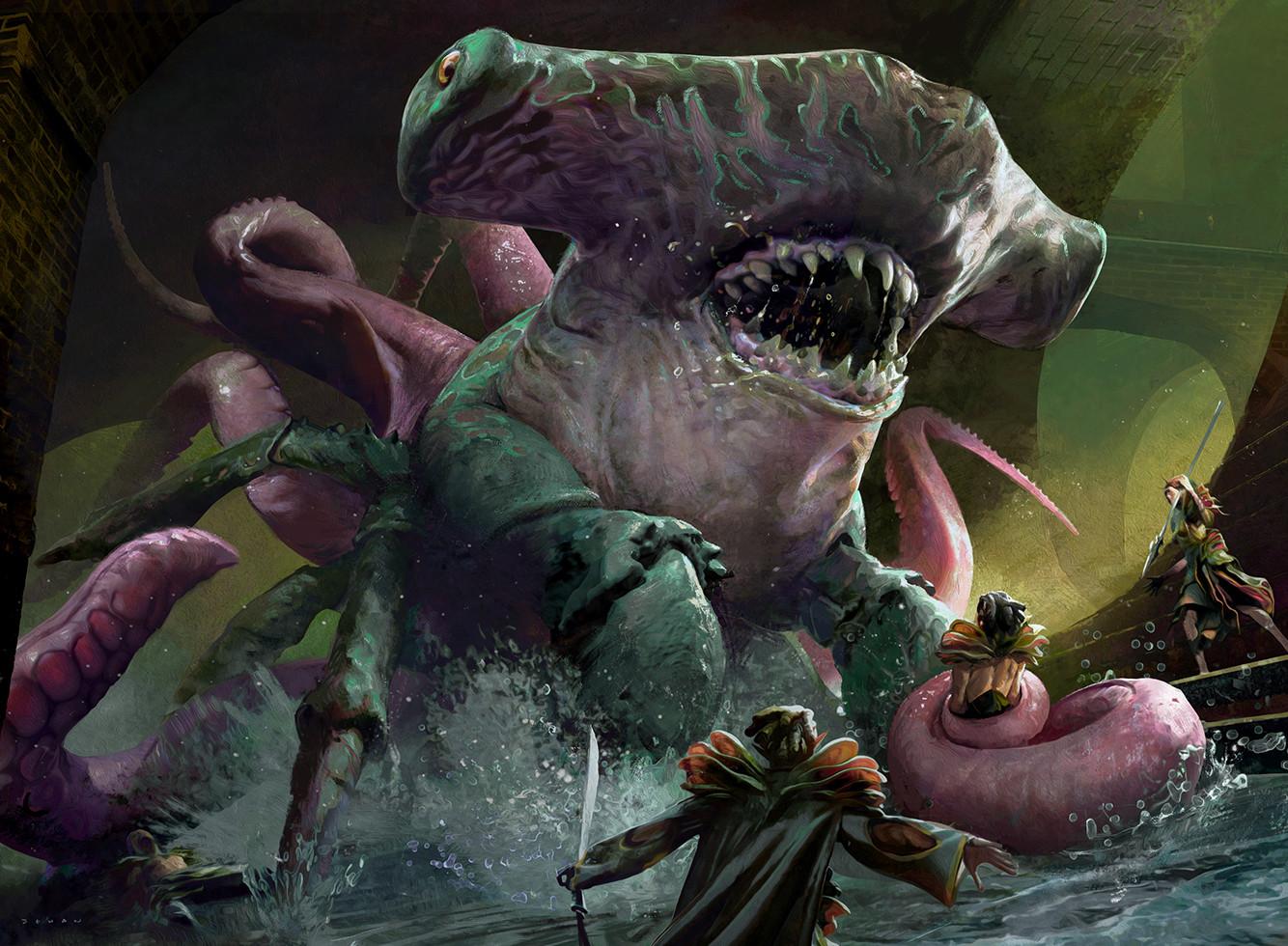 Artstation Sharktocrab Jehan Choo