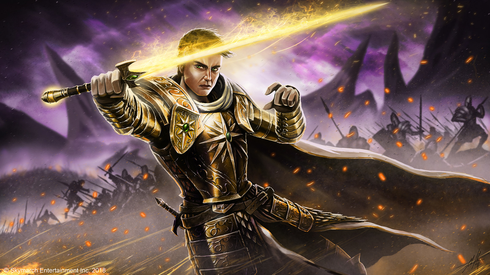 Sacred Knight Corvax