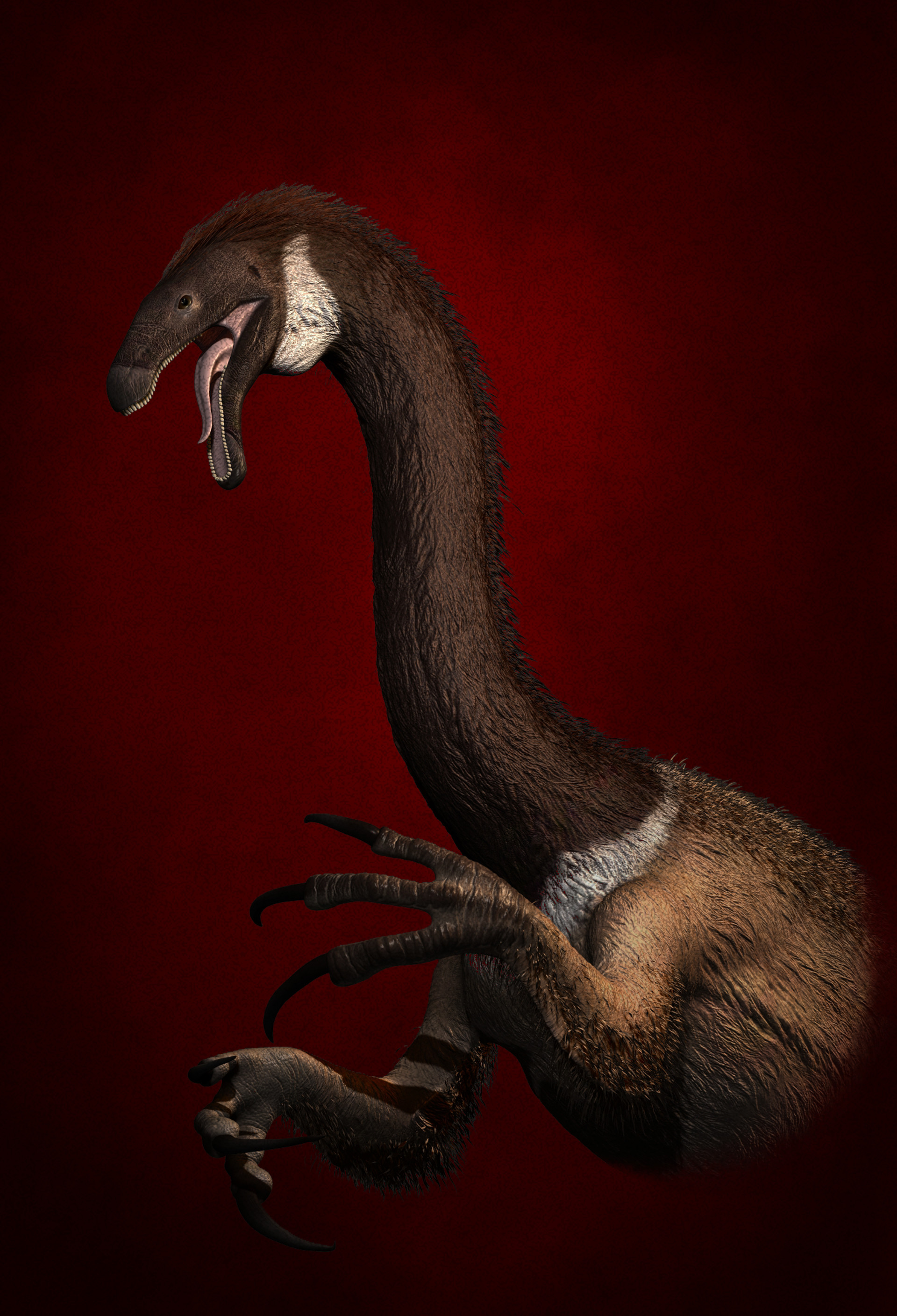 James bear therizinosaurus