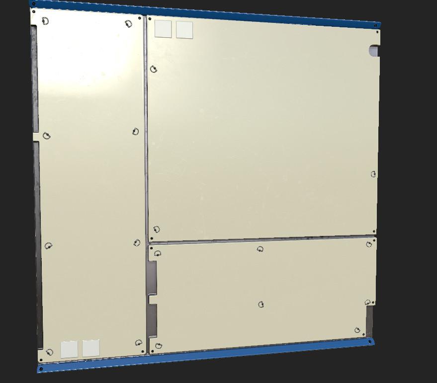 Basic wall module