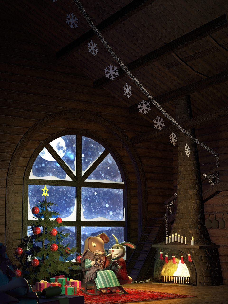 Christmas card 2015 project: Fairy tale moment
