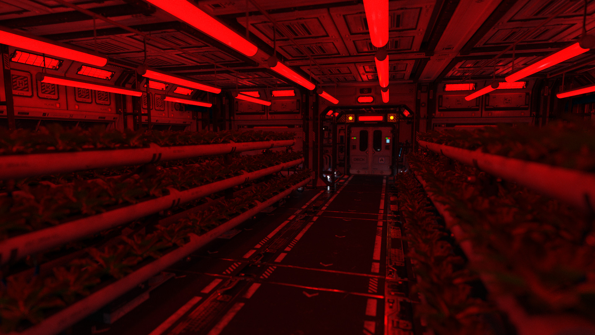 Joel lovell hydroponics room red alert