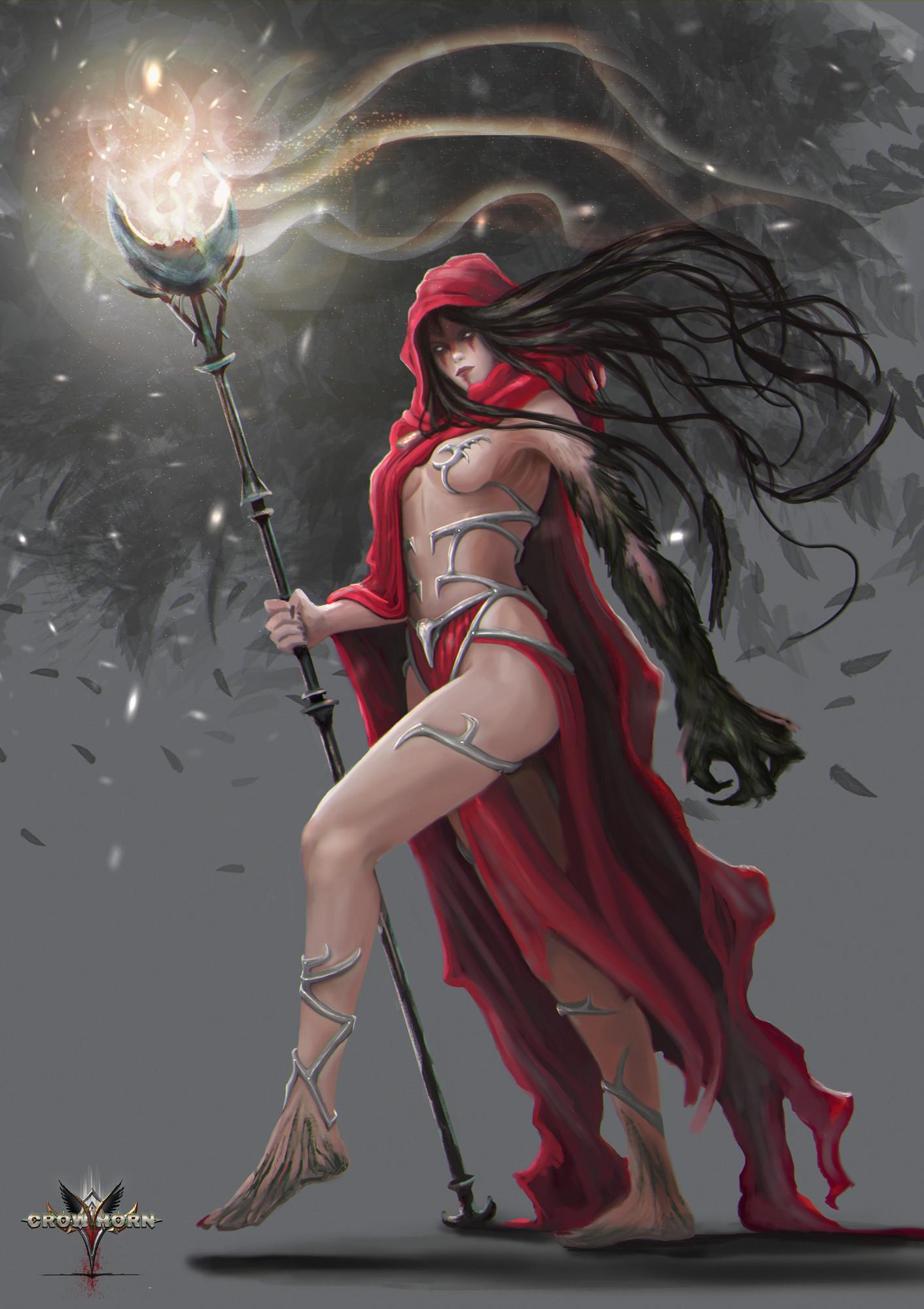 Lorenn tyr crow witch cuerpo