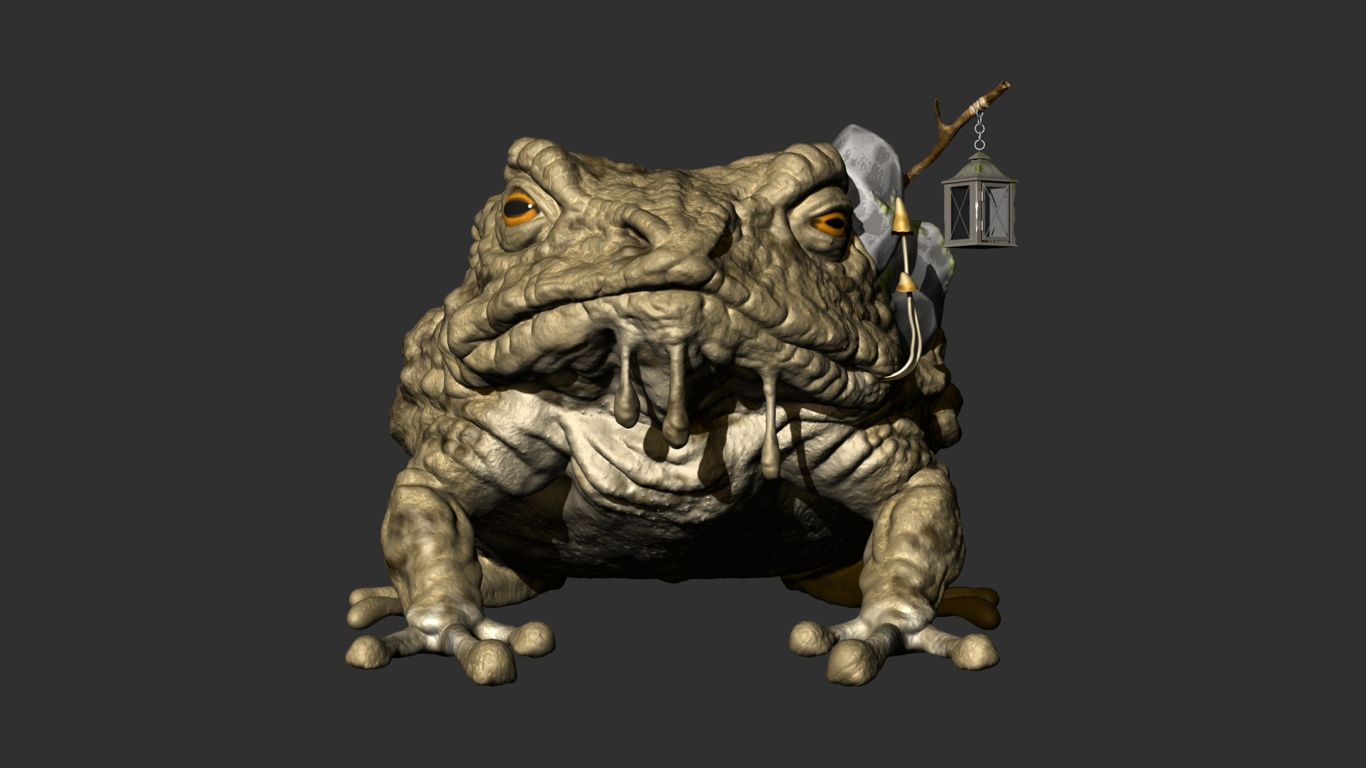 Zbrush front view