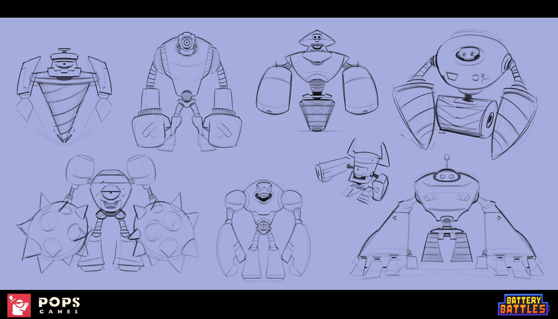 Drakhas oguzalp donduren 20 robo sketches 20