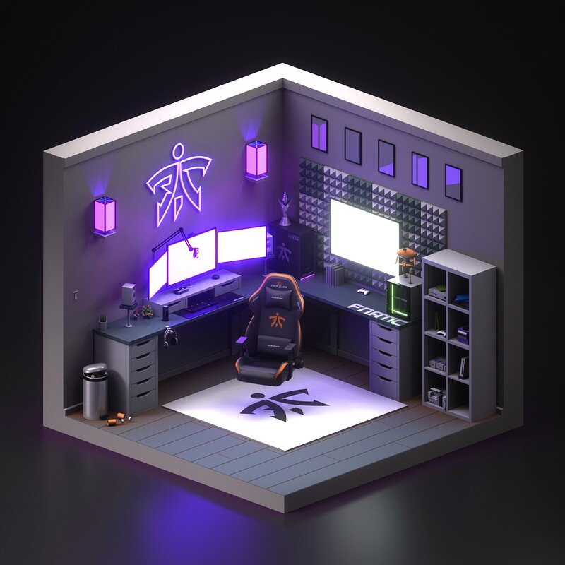 Fnatic Gameroom