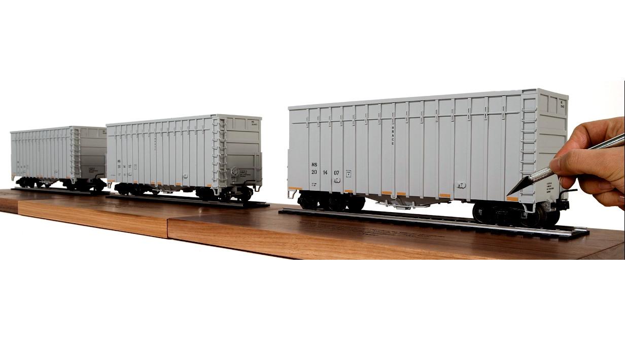 Marion wood train shot