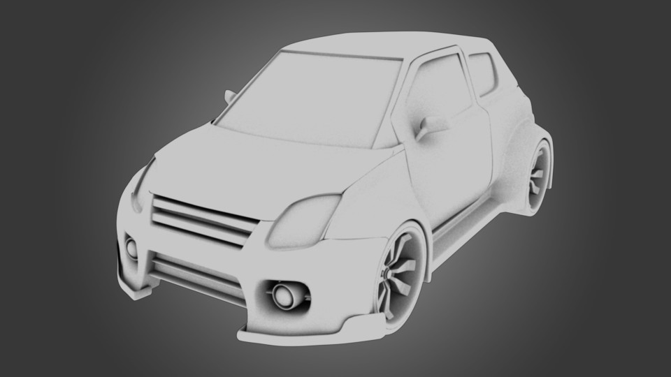 fba66bed7ed78 ArtStation - suzuki swift