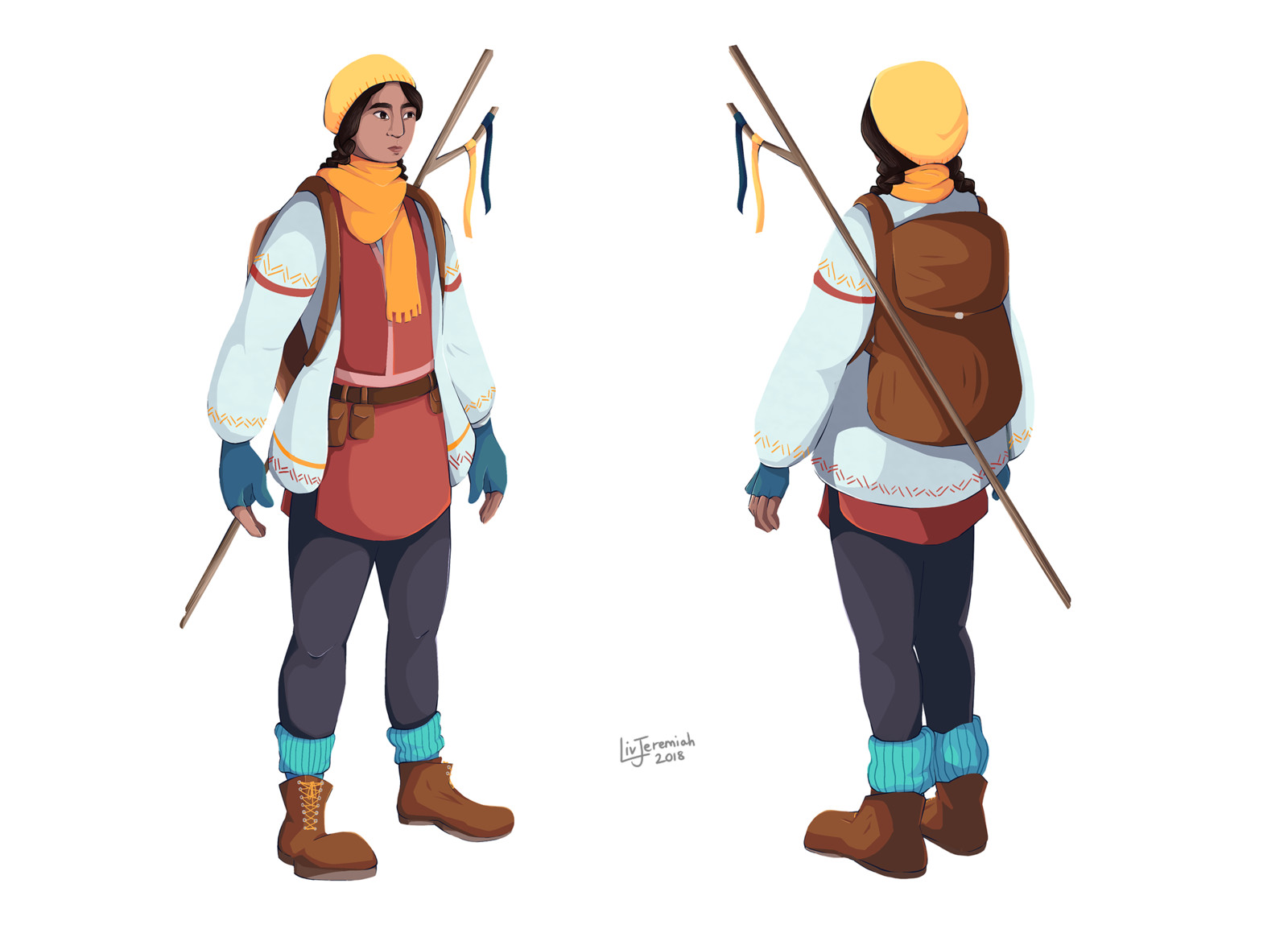 Nanu - Character turnaround