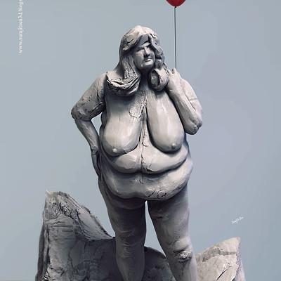 Surajit sen 100 figure sculpt surajitsen jan2019