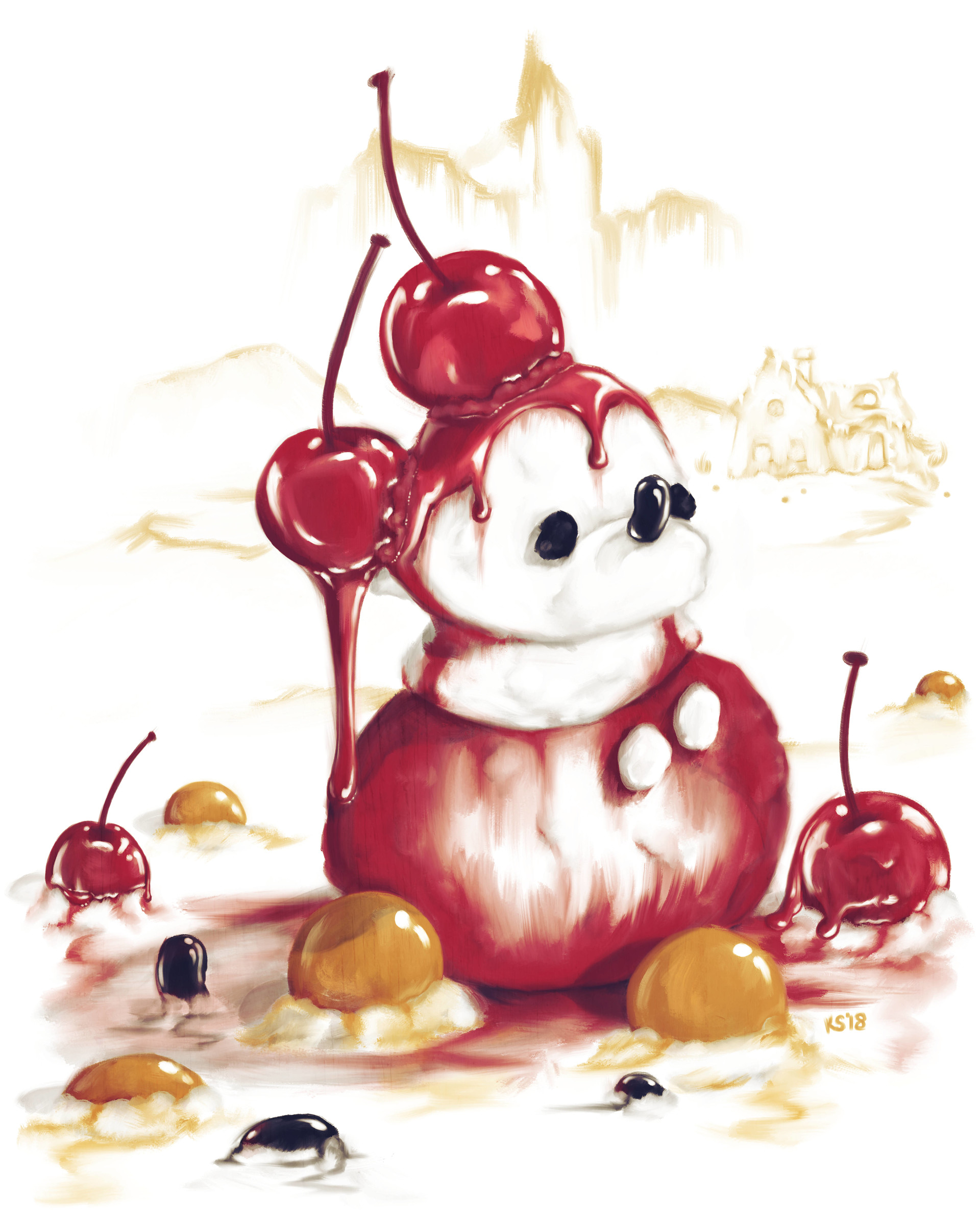 Strangest candy mickey