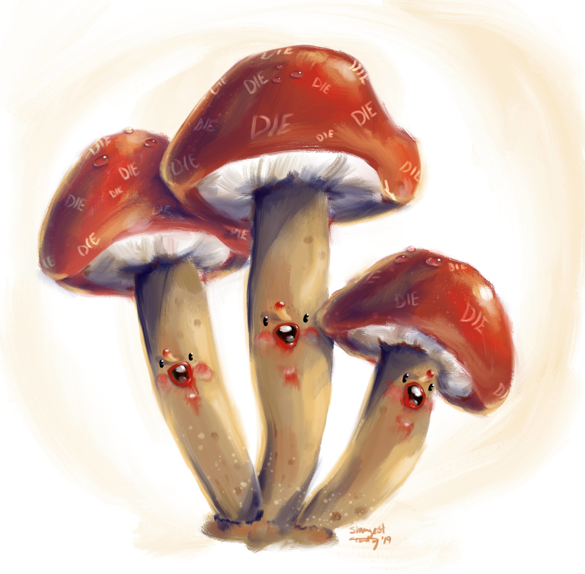 Strangest candy mushroomsgroup