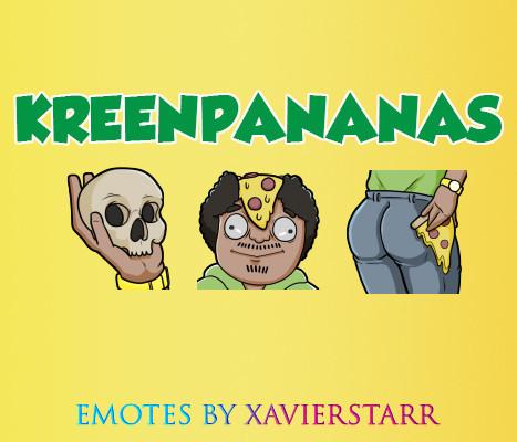 Twitch Emotes - KreenPananas