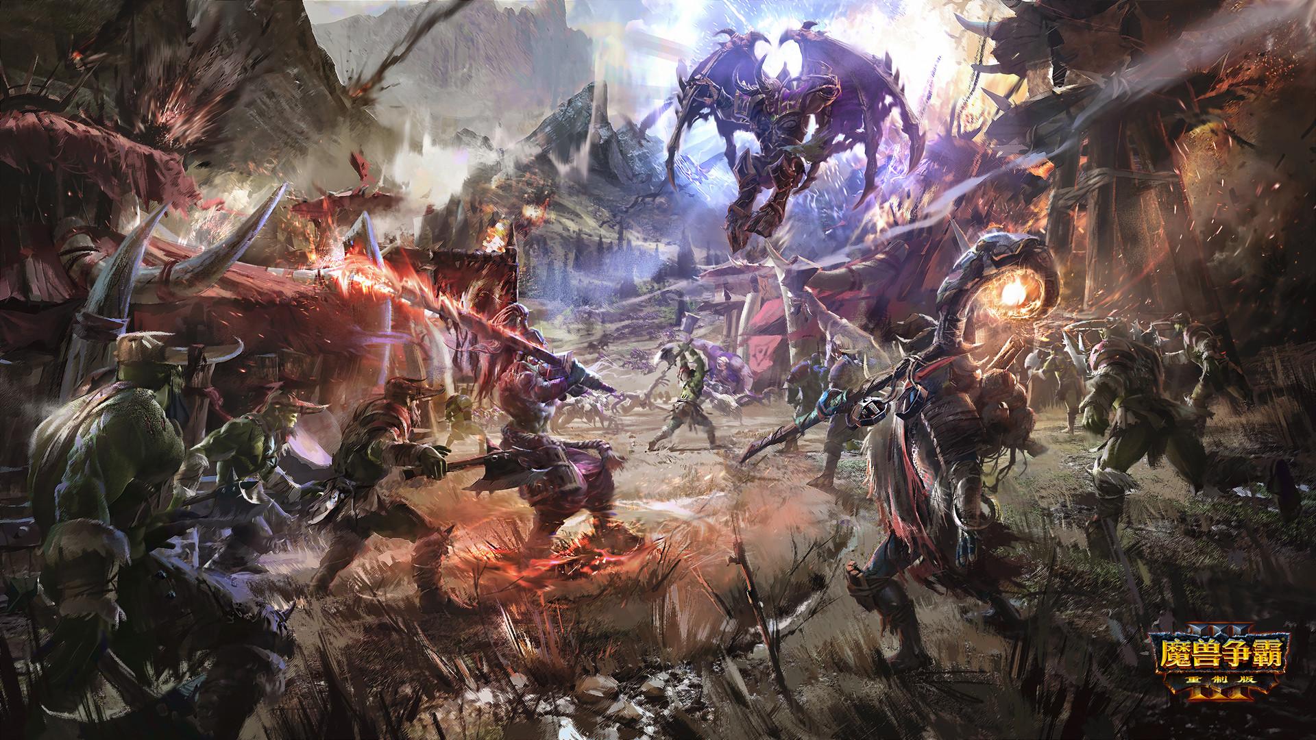 Artstation Poster For Warcraft Iii Reforged Leo Li