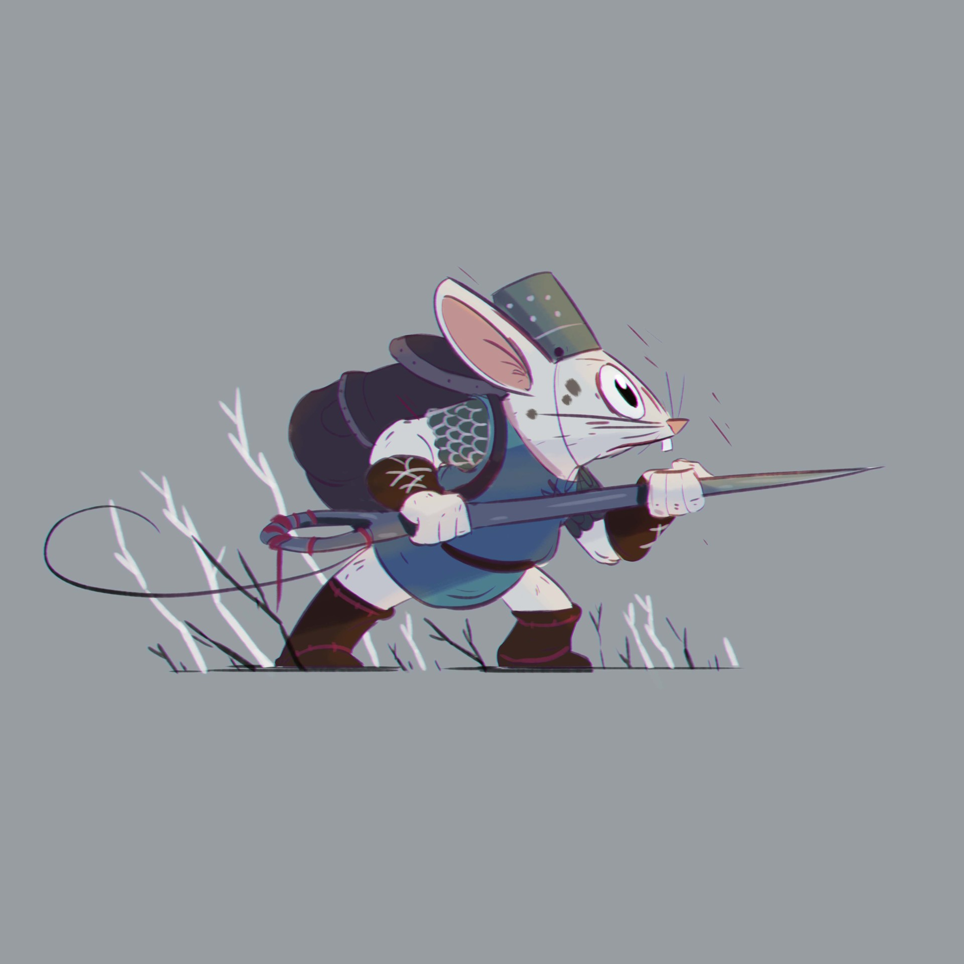 Pablo broseta mouse warrior2