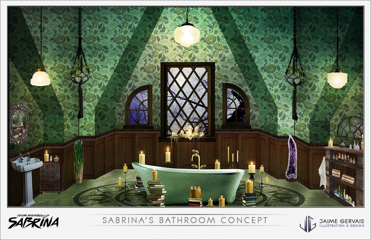 Jaime gervais sabrinabathroom