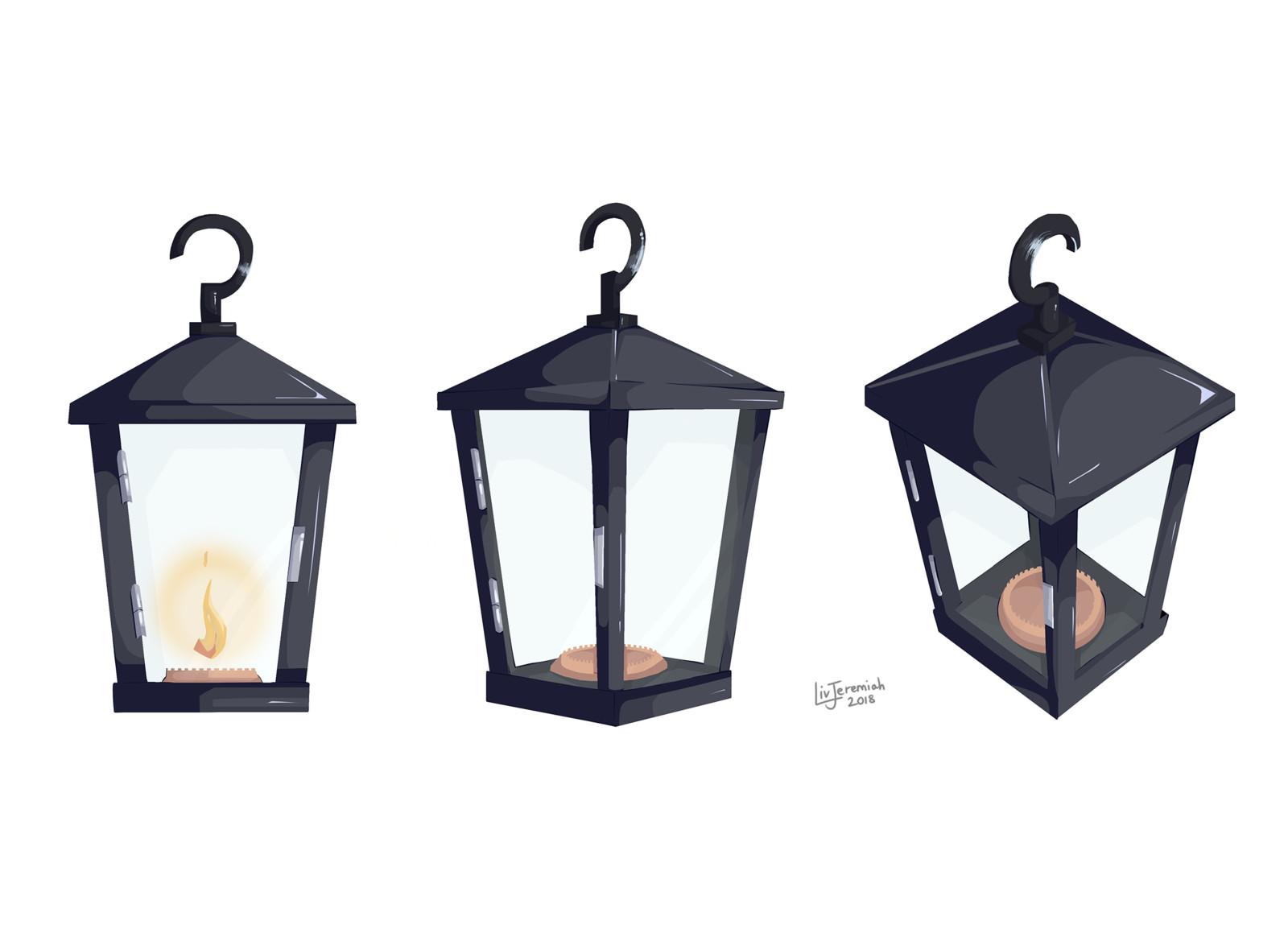 Prop - Nanu's lantern