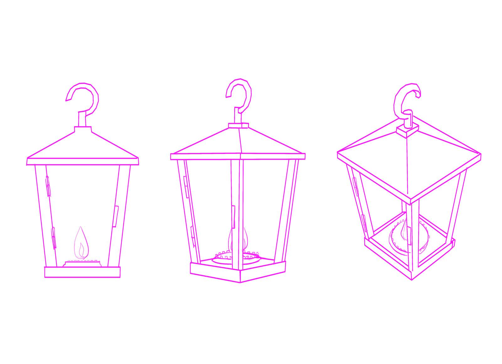 Prop - Nanu's lantern (process)