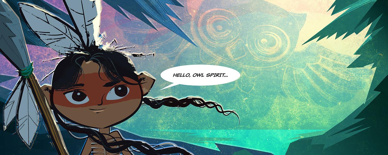 Hello Owl Spirit...