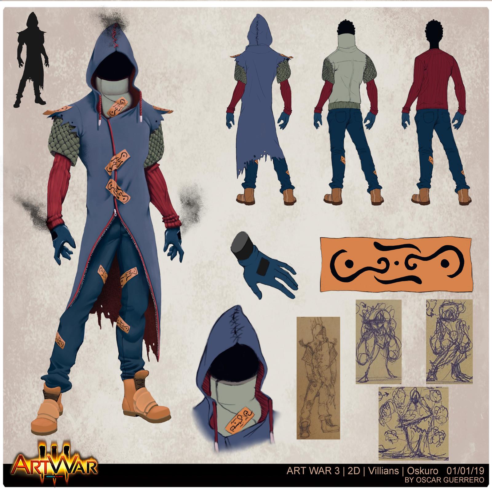 Art War 3 Villain: Oskuro
