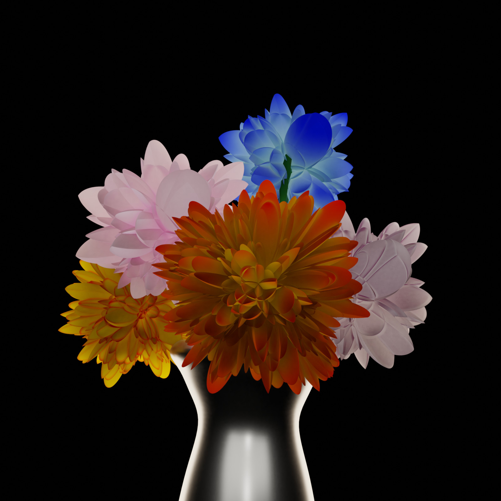 Displacement flowers