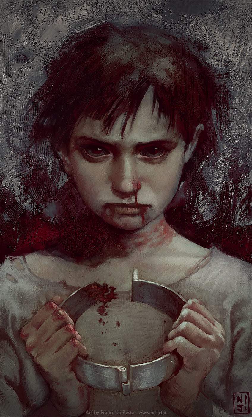ArtStation - I come with knives, Francesca Resta