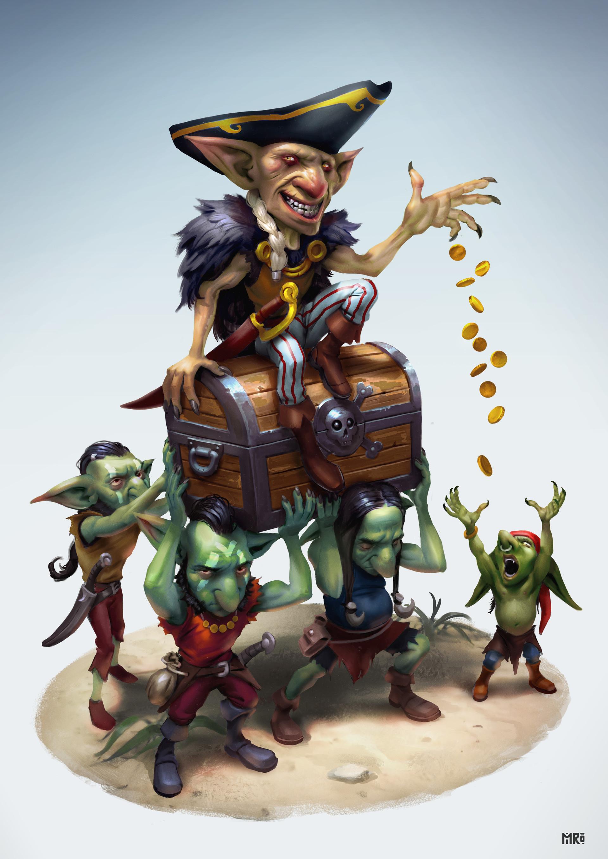 Miro petrov goblins treasure