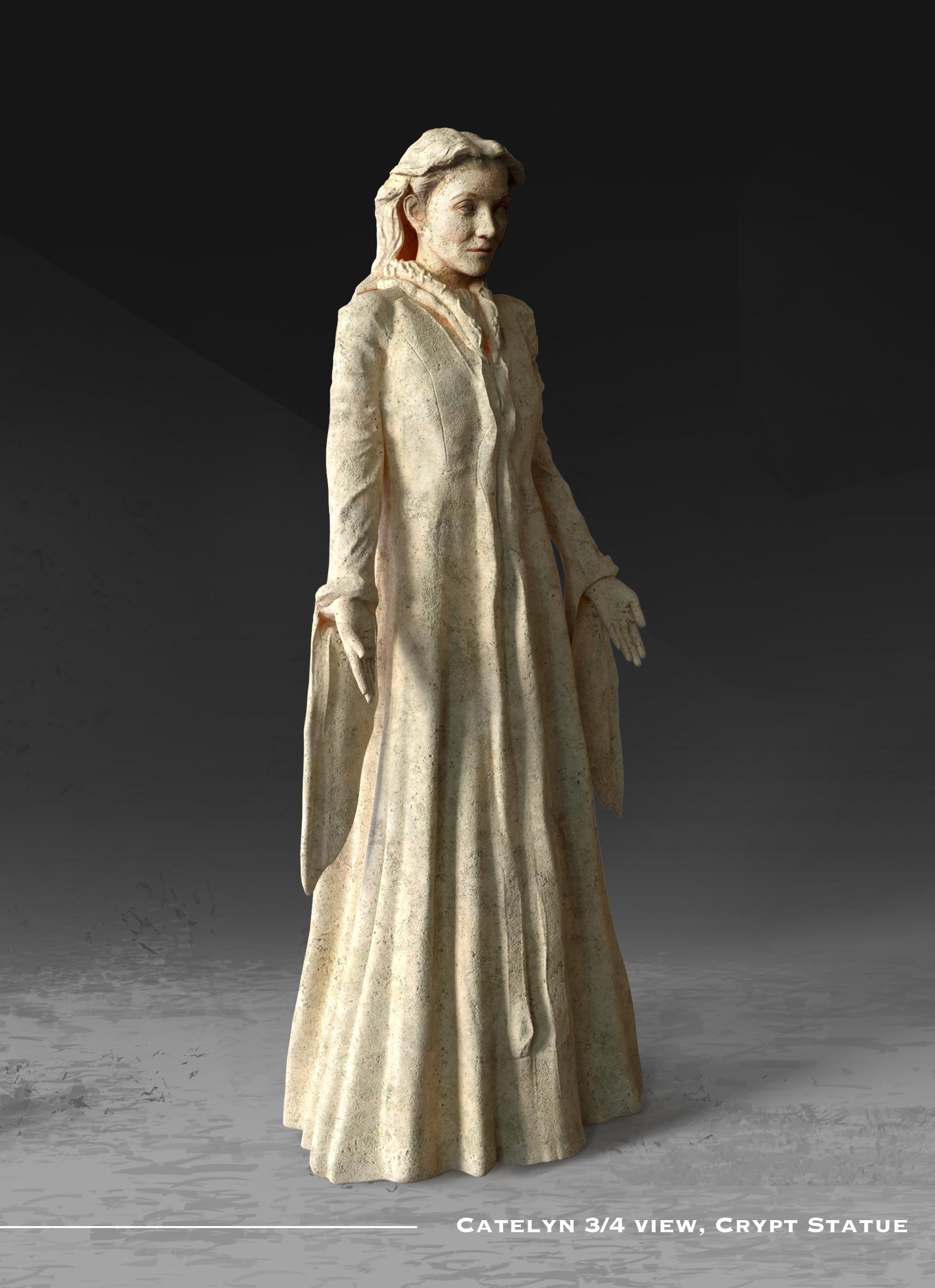 Kieran belshaw catelyn statue 3quarter v002