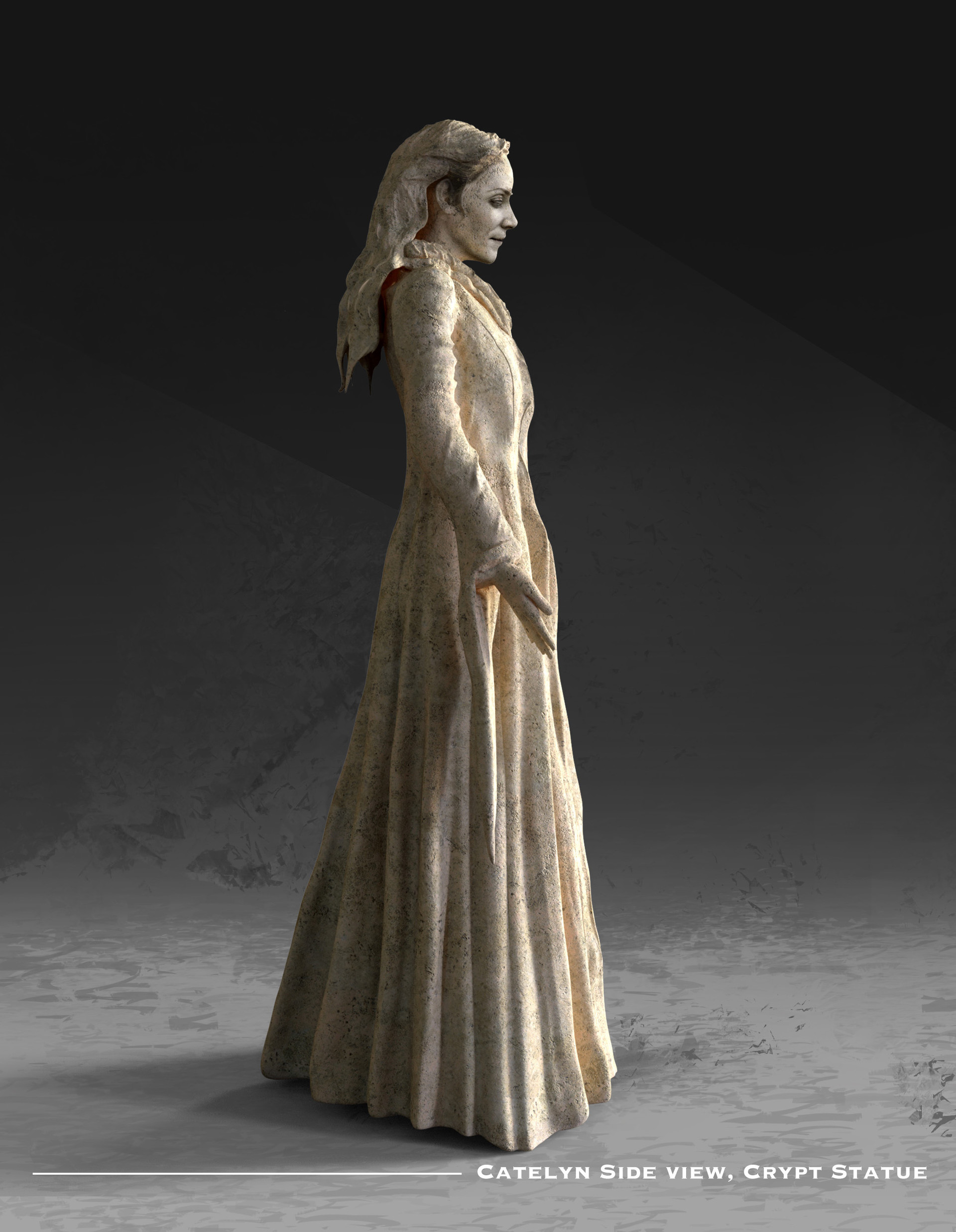 Kieran belshaw catelyn statue side v002